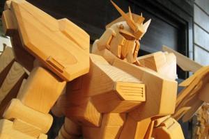 木製ガンダム1