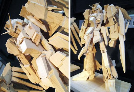 木製ガンダム2