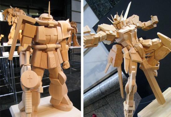 木製ガンダム3